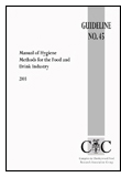 Manual of Hygiene Methods for the Food and Drink Industry