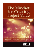The Mindset for Creating Project Value book jacket