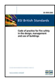 Code Of Practice For Fire Safety In The Design, Management And Use Of Buildings book jacket image