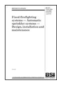 Fixed Firefighting Systems. Automatic Sprinkler Systems. Design, Installation And Maintenance book jacket image