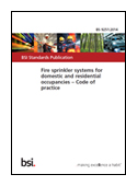 Fire Sprinkler Systems For Domestic And Residential Occupancies. Code Of Practice book jacket image