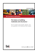 Fire Tests On Building Materials And Structures. Guide To The Principles, Selection, Role And Application Of Fire Testing And Their Outputs book jacket image