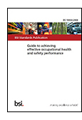 Guide to achieving effective occupational health and safety performance