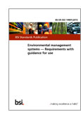 Environmental management systems. Requirements with guidance for use