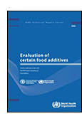 Evaluation of Certain Food Additives shortcut