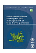 Multicriteria-based Ranking for Risk Management of Food-borne Parasites shortcut