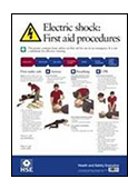 Electric Shock First Aid Poster image