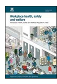 Workplace (Health, Safety and Welfare) Regulations 1992: Approved Code of Practice and guidance cover