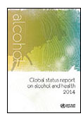 Global Status Report on Alcohol and Health 2014 cover