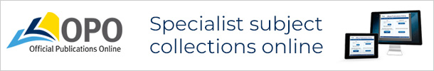 Official Publications Online (OPO) - specialist subject collections online