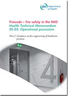 Firecode - fire safety in the NHS: opera - Front