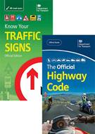 HIghway code and know your traffic signs book jackets