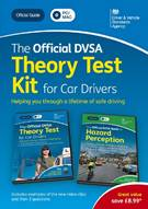The Official DVSA Theory Test Kit for Car Drivers - DVD-ROM Pack - Front