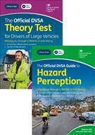 The Official DVSA Theory Test for Drivers of Large Vehicles and Hazard Perception DVD-ROM pack - Front