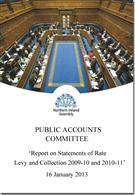 Report on Statements of Rate Levy and Collection 2009-10 and 2010-11 - Front