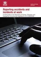 Reporting Accidents And Incidents At Work, INDG453 - Front