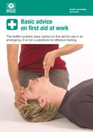 Basic advice on first aid at work (pack of 20)