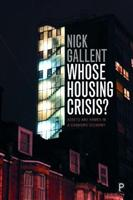 Whose Housing Crisis?: Assets and Homes  - Front