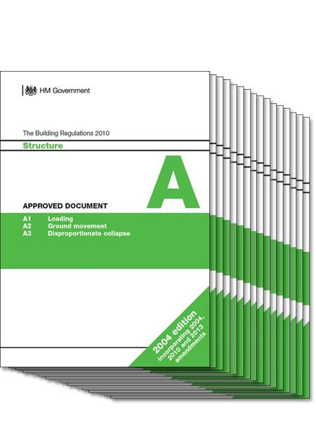 The building regulations complete set of approved documents for Construction rules and regulations